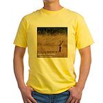 Jackrabbit Sitting Yellow T-Shirt