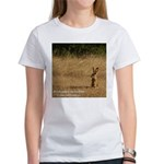 Jackrabbit Sitting Women's T-Shirt