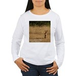Jackrabbit Sitting Women's Long Sleeve T-Shirt