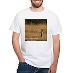 Jackrabbit Sitting White T-Shirt