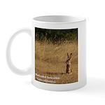 Jackrabbit Sitting Mug