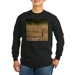 Jackrabbit Sitting Long Sleeve Dark T-Shirt