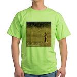Jackrabbit Sitting Green T-Shirt