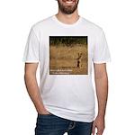 Jackrabbit Sitting Fitted T-Shirt