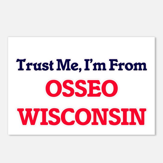 Trust Me, I'm from Osseo Postcards (Package of 8)