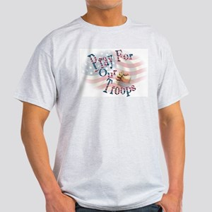 Pray For Our Troops Light T-Shirt