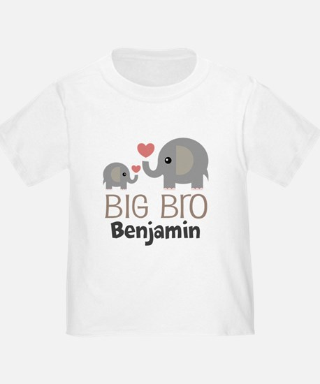 Big Bro Personalized Brother T-Shirt