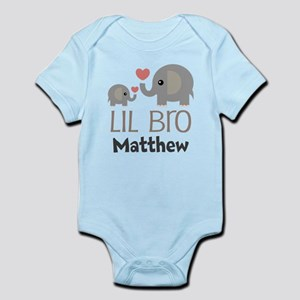 Lil Bro Personalized Brother Body Suit