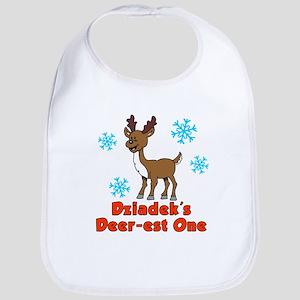 Dziadek's Deer-est One Bib