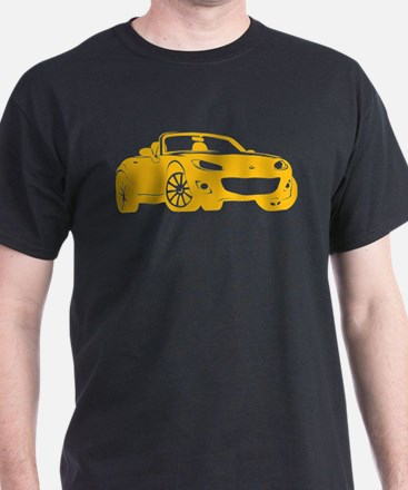 NC 2 Yellow Miata T-Shirt