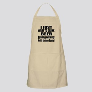 Hang With My Welsh Springer Spaniel Apron