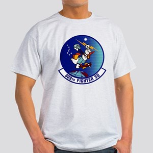 308th Fighter Squadron Black T-Shirt
