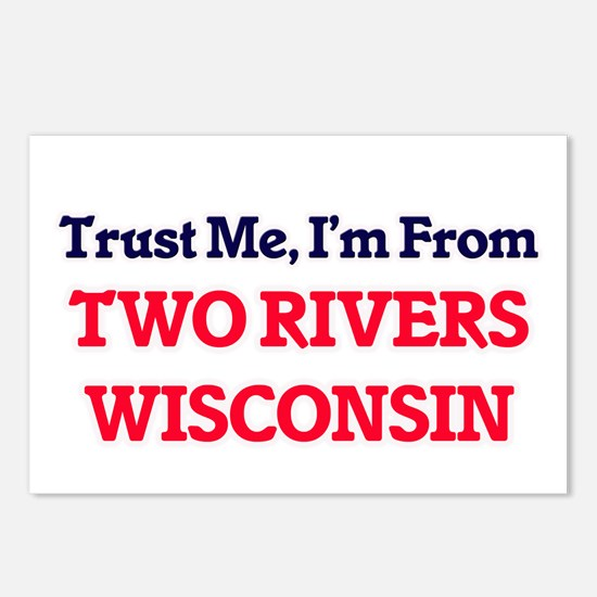 Trust Me, I'm from Two Ri Postcards (Package of 8)