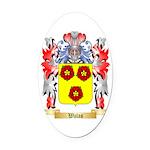 Walas Oval Car Magnet