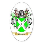 Wakeman Sticker (Oval 50 pk)