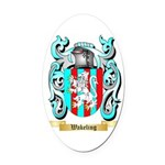 Wakeling Oval Car Magnet