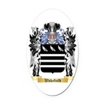 Wakefield Oval Car Magnet
