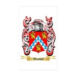 Wajshof Sticker (Rectangle 50 pk)