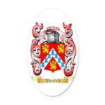 Wajsfeld Oval Car Magnet
