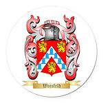 Wajsfeld Round Car Magnet