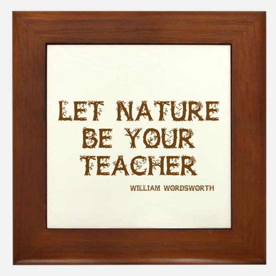 Nature Framed Tile