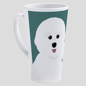Bichon Frise 17 oz Latte Mug
