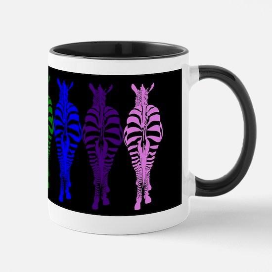Technicolor Dream (on black) Mugs