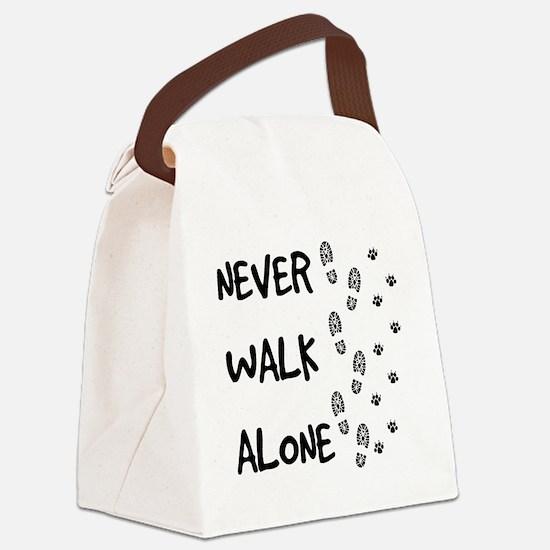 Unique Never Canvas Lunch Bag