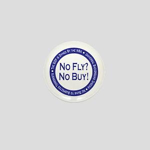 No Fly? No Buy! Mini Button