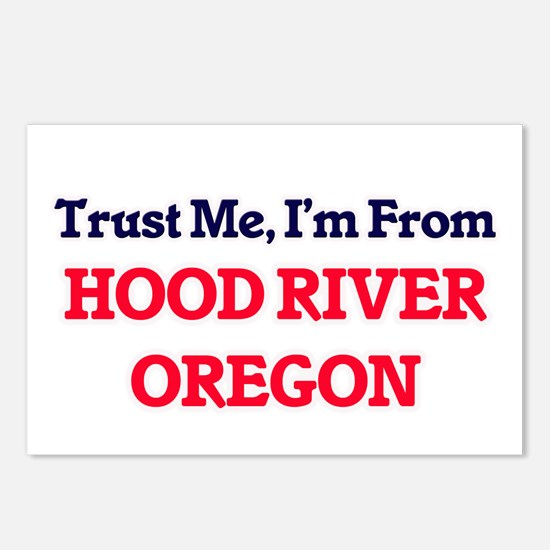 Trust Me, I'm from Hood R Postcards (Package of 8)