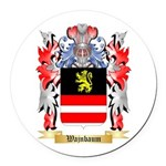 Wajnbaum Round Car Magnet