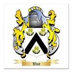 Wait Square Car Magnet 3