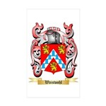 Waiswohl Sticker (Rectangle 50 pk)