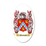 Waistuch 20x12 Oval Wall Decal