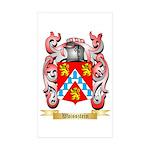 Waissztein Sticker (Rectangle 50 pk)