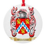 Waissbaum Round Ornament