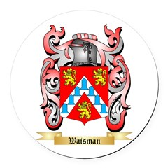 Waisman Round Car Magnet