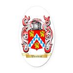 Waisbrot Oval Car Magnet