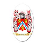 Waisblat 35x21 Oval Wall Decal