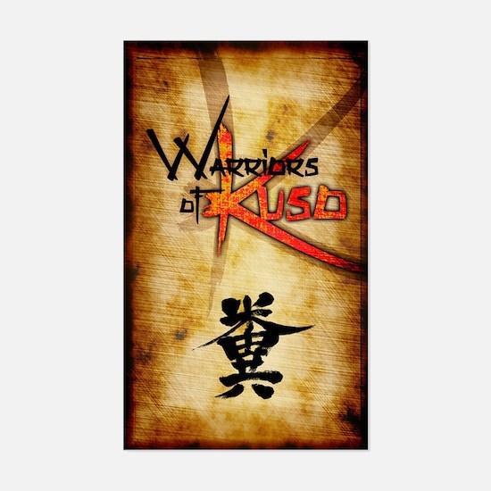 Warriors of Kuso Decal