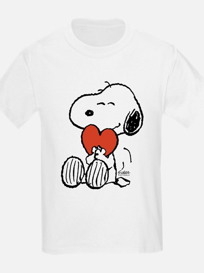 Snoopy Hugs Heart T-Shirt
