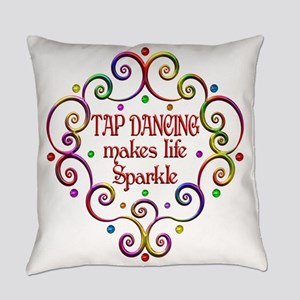 Tap Dancing Sparkles Everyday Pillow