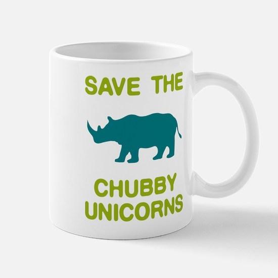 Save the Chubby Unicorns Mugs