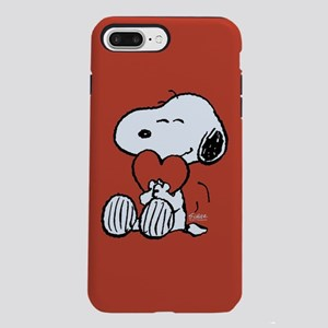 Snoopy Hugs Heart iPhone 8/7 Plus Tough Case