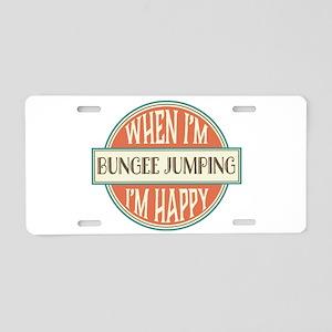 happy bungee Aluminum License Plate
