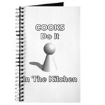 Cooks Do It In The Kitchen Journal