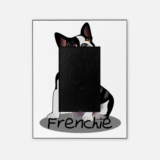 Funny French bulldog Picture Frame