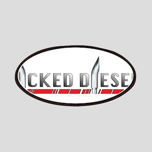 Wicked Diesels Logo Patch