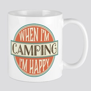Camping Happy 11 oz Ceramic Mug