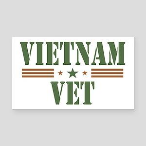 Vietnam Vet Rectangle Car Magnet